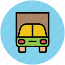 auto, automobile, car, car garage, sedan, transport, vehicle icon