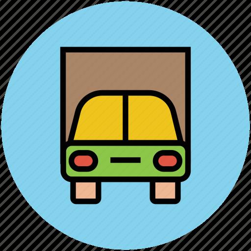 auto, automobile, car, car garage, sedan, transport, vehicle icon