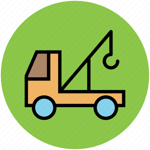 crane, lifter, luggage lifter, tow, transport, vehicle icon