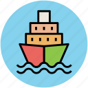 boat, ship, shipment cruise, travel, vessel icon