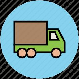 delivery van, transport, transportation, van, vehicle icon