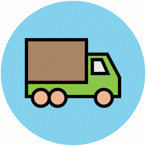 delivery van, transport, transportation, van, vehicle icon
