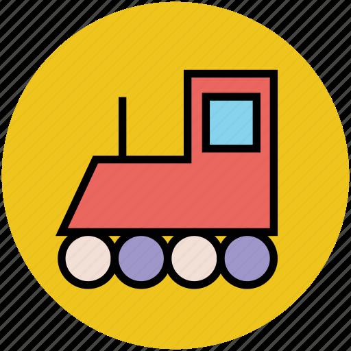 engine, locomotive, retro, steam engine, steam train icon