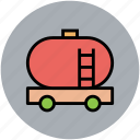 fuel tank, gas tank, industrial tank, oil tank, tank, water tank icon