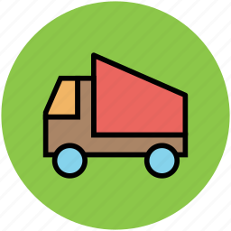 delivery, delivery van, sedan delivery, transport, van, vehicle icon