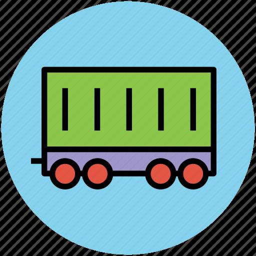 cargo container, cargo vehicle, container, container vehicle, shipping, shipping container icon