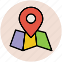 gps, locator, map pin, navigational, pin icon