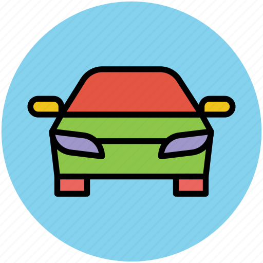 auto, automobile, car, personal transport, sedan, transport, vehicle icon