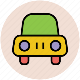 automobile, car, compact car, transport, vehicle icon