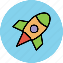 missile, rocket, rocket launch, rocket ship, spacecraft, spaceship icon
