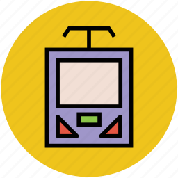 cortege, train, tramway, transport, underground train icon