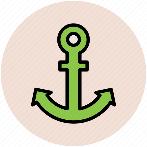 anchor, direction sea, marine, sea, ship icon