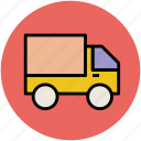 delivery van, pickup, transit, transport, van, vehicle icon