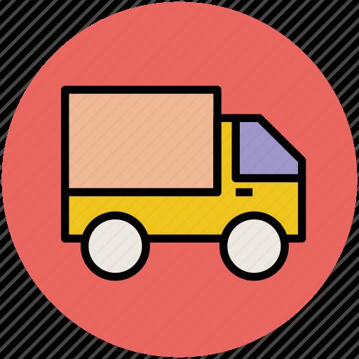 delivery van, pickup, transit, transport, van, vehicle icon
