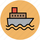 boat, cruise, ship, shipment luxury cruise, shipping, vessel icon