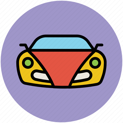 automobile, car, hatchback, luxury, luxury car, racing car, sports car, vehicle icon