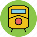 locomotive, subway, train, tram, tramway, transport, travel icon