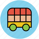 delivery van, double cab, pickup, transit, transport, truck, van, vehicle icon