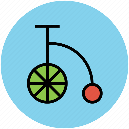 circus, cycling, torker, unicycle icon