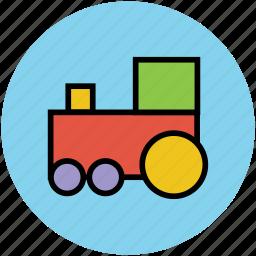 engine, locomotive, steam engine, train icon
