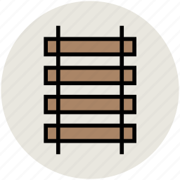fence, garden, railing, road fence, transport fence icon