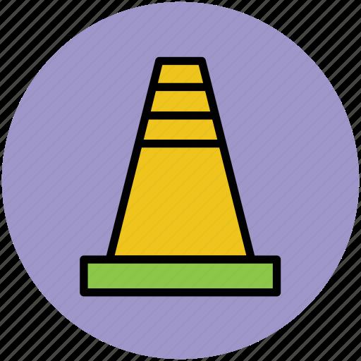 cone, construction, emergency cone, under construction icon