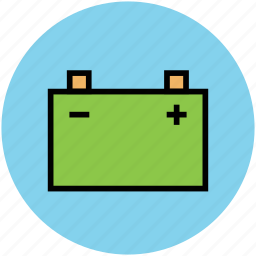 battery, car battery, charging, energy, power icon