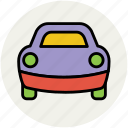 cab, public hire, taxi, taxicab, tourist car icon
