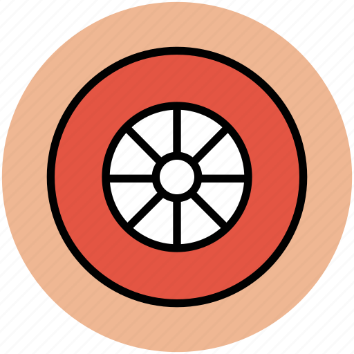 car wheel, tire, transport, truck wheel, wheel icon