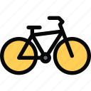 bicycle, car, logistics, machine, transport, transportation icon