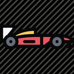 car, formula, logistics, machine, transport, transportation icon