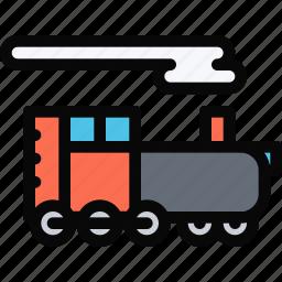 car, locomotive, logistics, machine, transport, transportation icon