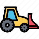 car, loader, logistics, machine, mini, transport, transportation icon