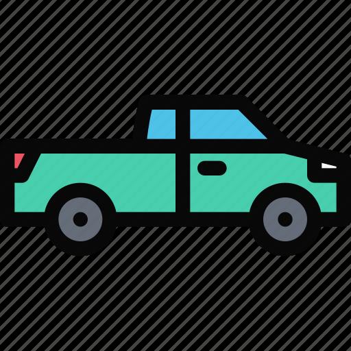 car, logistics, machine, pickup, transport, transportation icon