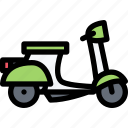 car, logistics, machine, scooter, transport, transportation icon