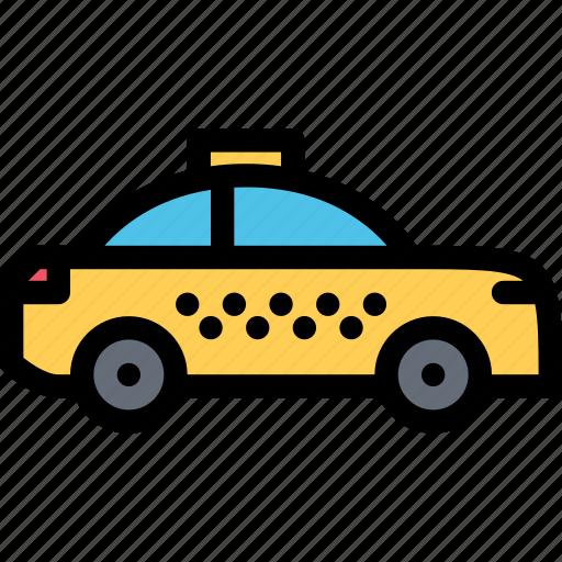 car, logistics, machine, taxi, transport, transportation icon