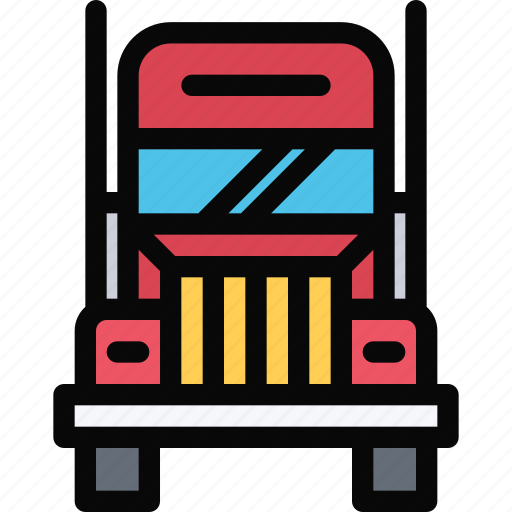 car, logistics, machine, transport, transportation, truck icon