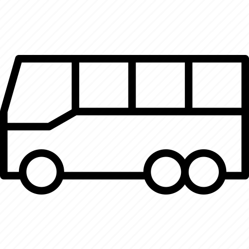 bus, public, regional, transit, transport, travel, vehicle icon