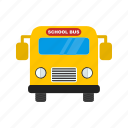 bus, delivery, schoolbus, transport, travel, truck, vehicle icon