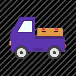 cargo, carrier, van icon