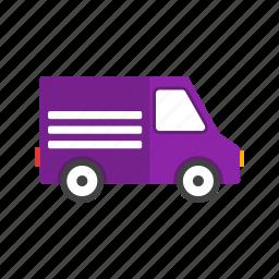 cargo, delivery, van, vehicle icon