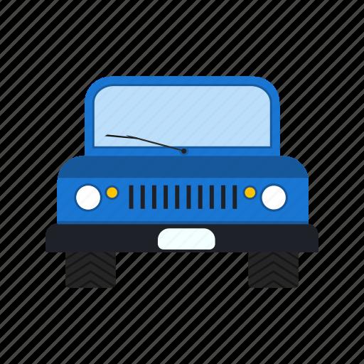 jeep, suv, transport, vehicle icon