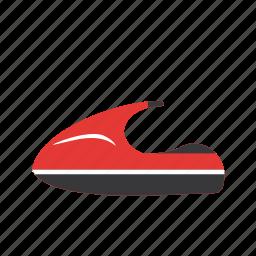 jet bike, jet boating, jet ski, wave runner icon