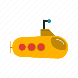 military, navy, sub marine, submarine icon