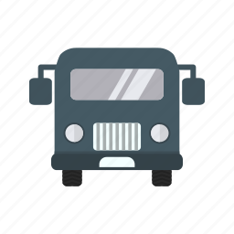 airport, bus, transport, travel icon