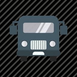 airport, bus, travel icon