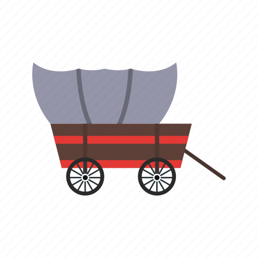cart, wagon, wheel icon