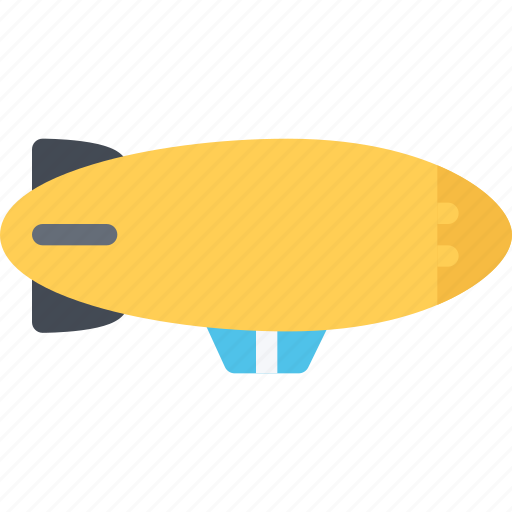airship, delivery, shipping, transport, transportation icon