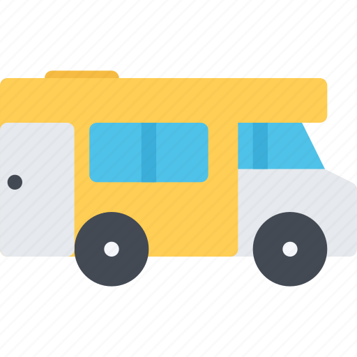camper, delivery, shipping, transport, transportation icon