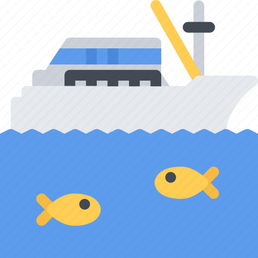boat, delivery, fishing, shipping, transport, transportation icon